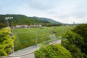 富士緑の休暇村(人工芝グラウンド全体図)