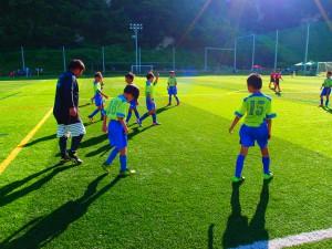 葛飾FC・千葉県船橋市からの参加
