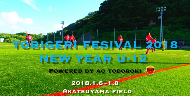 TOBIGERI FESIVAL 2018 NEW YEAR U-12 Powered by AC等々力