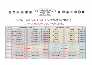 U-10 TOBIGERI ONE CHAMPIONSHIP(ドラッグされました)