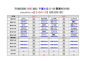 【初日結果_最終日スケジュール】TOBIGERI ONE 2021 予選大会 関東ROUND(ドラッグされました) 7