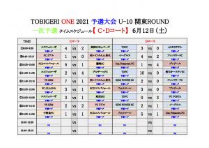 【初日結果_最終日スケジュール】TOBIGERI ONE 2021 予選大会 関東ROUND(ドラッグされました) 3