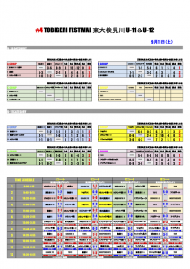 _4 TOBIGERI FESTIVAL 東大検見川U-11_U-12