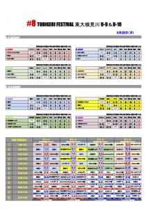 【9月20日】_8 TOBOGERI FESTIVAL 試合結果